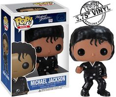 Michael Jackson Pop! Rocks Vinyl Figures Wave 2 by Funko