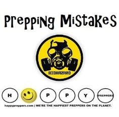 Common Prepping Mistakes (and how to avoid them): http://www.happypreppers.com/mistakes.html #preppertalk #preparedness