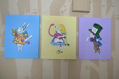alice in wonderland themed nursery   Alice in Wonderland Paintings