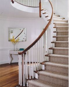 I recommend wool berber or wool sisal runners with contrast banding to many clients due to their hard-wearing tendencies for busy families as well as classic good looks. Re-doing a trendy stair runner is not something you want to do often! But lately I've been trying to think of ways to dress them up a …