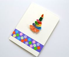 How to make Quilling Cards for Birthday - DIY Paper Crafts