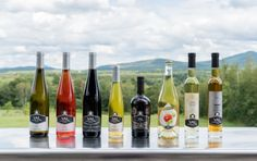 Sélection de bouteilles - Vignoble Val Caudalies - Route des vins Brome-Missisquoi