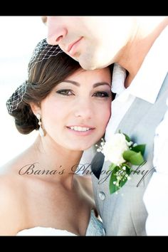 Beach wedding, bridal couple, bride, groom, romantic, Destin wedding