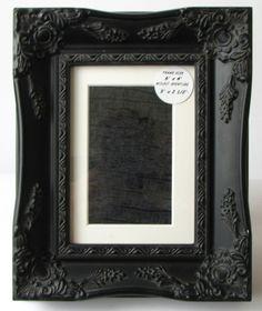 black antique picture frames. Baroque Style Picture Frame Black Antique Frames