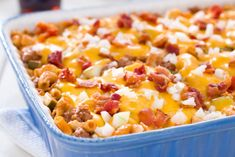 Bacon Cheeseburger Pasta Bake