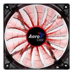 Shark 12cm Evil Black Orange LED Fan 15 Blade Fluid Dynamic Bearing - Computer Products Online Ltd