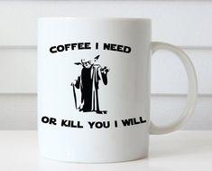 Star Wars Pop Art Black White Mug gift Ceramic Mug Quote Mug Custom Mug