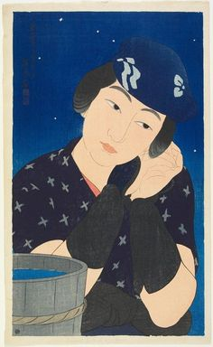 Woman of the Island, 1922  Ito Shinsui