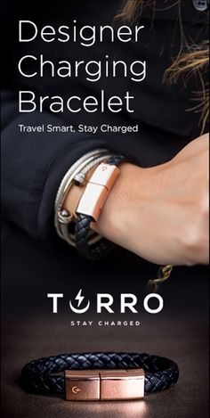 This fashion chameleon transforms instantly from bold and strong to understated and elegant. The perfect accessory to any style. Black & Rose Gold Single Braided Ever considered bringing your iPhone… Beach Accessories, Travel Accessories, Accessories Display, Phone Accessories, Tips For Traveling Alone, Waterproof Fitness Tracker, Beach Travel, Luxury Travel, Travel Trip