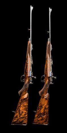 A Brace Of Superb Hartmann & Weiss Bolt Action Rifles