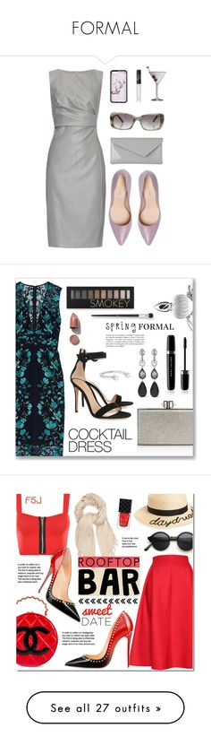 """""""FORMAL"""" by clothes-pic ❤ liked on Polyvore featuring MaxMara, Sergio Rossi, L.K.Bennett, Improvements, NARS Cosmetics, Etienne Aigner, Lela Rose, Gianvito Rossi, Judith Leiber and Oscar de la Renta"""
