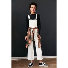 BDG Ryder Boyfriend Overall ($89) ❤ liked on Polyvore featuring jumpsuits, overalls jumpsuit, bdg and bib overalls