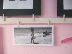 hang up photos or art work