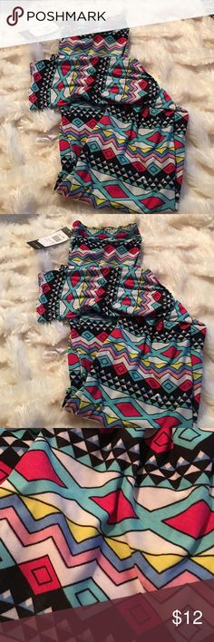 summer legging reg one size fits all  These are soft comfy silky summer Muti color legging  affordable great fitting reg one size fits all  Paris pink  Pants Leggings