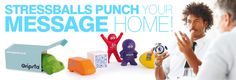 Stressballs punch your message home!