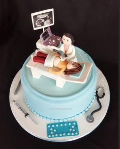 Gynecologist cake