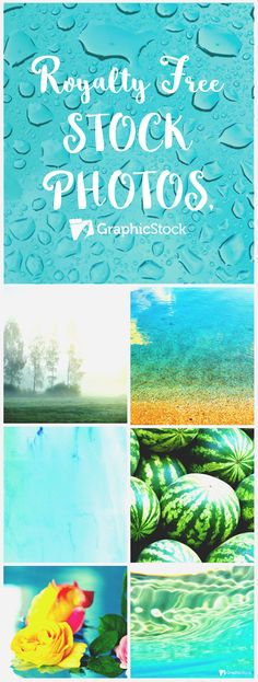 Modern, Bright Summer Royalty Free Stock Images.