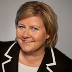 Erna Solberg is a Norwegian politician who has been Prime Minister of Norway since October 2013 and Leader of the Conservative Party since May 2004.