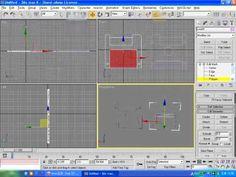 3D맥스 6 초급   12강   플로피 디스크 만들기