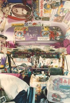 Inside a hippie van made me think of my family across the pond
