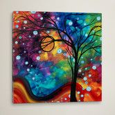 Found it at Wayfair - Winter Cold by Megan Duncanson Painting Print on Wrapped Canvas