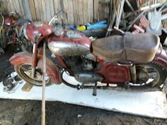 Jawa 250cz year 1956