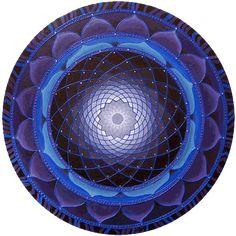Mandala color indigo