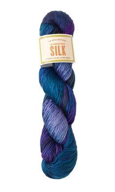 60/% merino 20/% alpaca 20/% silk yarn Mirasol Sulka Raw White knitting yarn