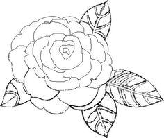 Resultado de imagen para rosas para colorear