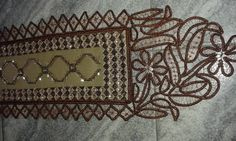 Hand Embroidery, Diy Crafts, Rugs, My Love, Lace, Home Decor, Farmhouse Rugs, Decoration Home, Room Decor