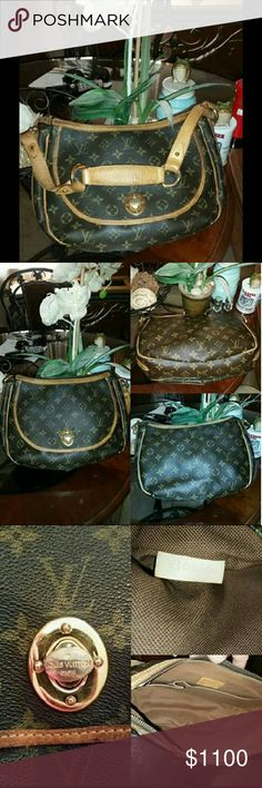 Louis vuitton Tulum Great condition just has some wear on hardware great on the go :) classic and timeless Louis Vuitton Bags Shoulder Bags