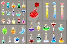 On these phials I spend ten times more than on usual potions, but I love the results 1 - sold to Rain-Courage 2 - sold to Rain-Courage 3 - commission for Rain-Courage DO NOT edit, trace, copy or re...