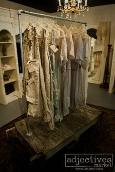 ❥ Magnolia Pearl at Adjectives Market~ love the display
