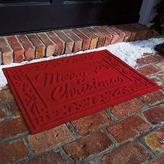 Waterhog Merry Christmas Mat -- Home decor details can be found by clicking on the image.