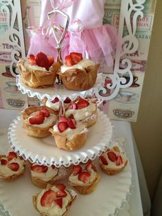 A perfect wedding or bridal shower dessert: phyllo cups with custard and organic strawberries. The Vegetarian Gourmet will be on site at Love/Make, our indie wedding expo in San Francisco on March 8, 2015! http://www.thebolditalic.com/lovemake