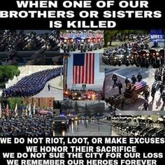 4 more police officers were shot over the weekend 11/20. There needs to be an example made that this WILL NOT BE TOLERATED !!!