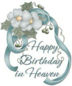 Birthday In Heaven Poem Happy Heavenly 6th Greetings