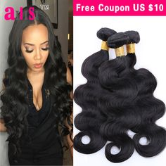 Malaysian Body Wave 3 Bundles Deals Malaysian Virgin Hair Body Wave 7A Unprocessed Malaysian Hair Weave Bundles ms lula hair  *** Details on product can be viewed by clicking the image