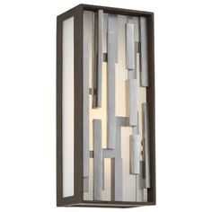Bars LED Outdoor Wall Sconce