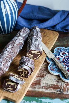 Chokladkorv! | Fredriks fika Nutella Fudge, Fika, Candy Recipes, Christmas Baking, No Bake Desserts, All Things Christmas, Baked Goods, Nom Nom, Bakery