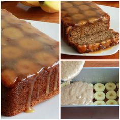 Caramel Banana Upside Down Bread