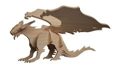 Dragonheart Wings Of Fire Dragons, Cool Dragons, Laser Etcher, Largest Snake, Cad Programs, Drawing Programs, Laser Machine, Dragon Crafts, 3d Puzzles
