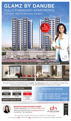 Fully Furnished Apartments, Discovery, Dubai, Innovation, Bring It On, Living Room, Bedroom, Hot, Home Living Room
