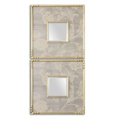 Evelyn Square Mirrors, S/2