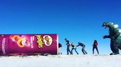 So creative!  Location: Salar de Uyuni, Bolivia.  Video Credit: @gudicavalcanti