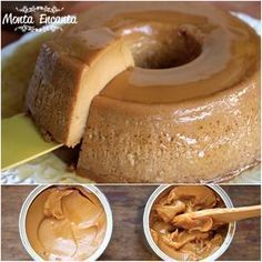 Portuguese Desserts, Portuguese Recipes, Pudding Recipes, Cake Recipes, Good Food, Yummy Food, Sweet And Salty, Food Cakes, Food Inspiration