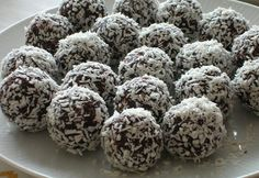 The chokladboll  Rumballs -- Norwegian