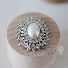 Vintage style embellishment for decorating wedding invitations and DIY wedding stationery
