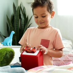 The new Toniebox is a safe way for kids to access online content. They choose their own music, videos and more using figurines of familiar characters.
