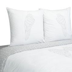 Housse de couette et 1 ou 2 taie(s) d'oreiller - Ange - Les parures de lit - Le linge de lit - Chambre - Décoration d'intérieur - Alinéa